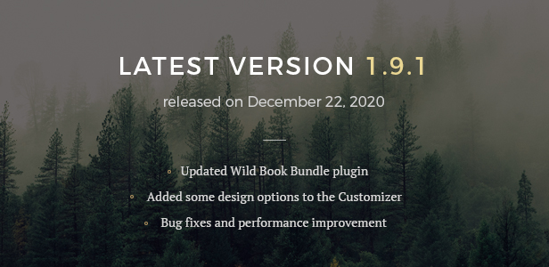 Wild Book - Vintage & Elegant WordPress Blog Theme - 3